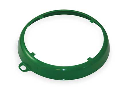 Color Coded Drum Ring, Gloss Finish, Green
