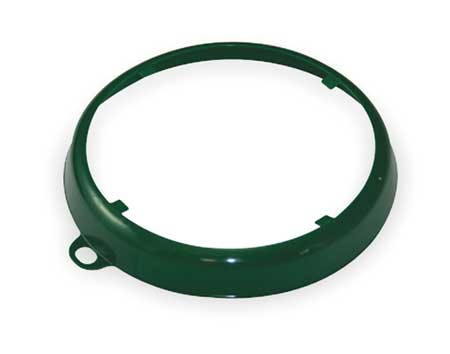 Color Code Drum Ring, Gloss Finish, Dk Grn