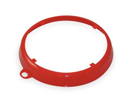 Color Code Drum Ring, Gloss Finish, Red