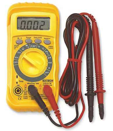 Digital Multimeter, 600V, 10A, 2 MOhms