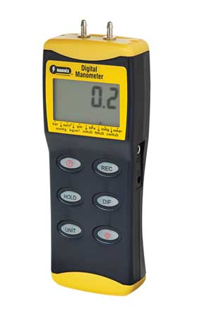 Deluxe Digital Manometer