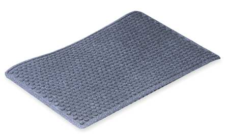 Carpeted Entrance Mat, Blue, 3ft. x 5ft.