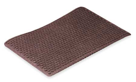 Carpeted Entrance Mat, Burgundy, 3ft.x5ft.