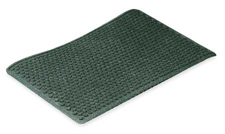 Carpeted Entrance Mat, Forest Green, 3x5ft