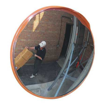 O/D Stainless Convex Mirror, 14Dia.