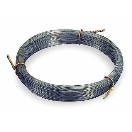 Music Wire, Steel alloy, 11, 0.026 In