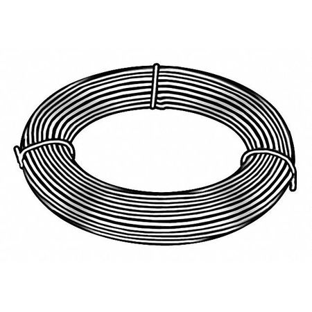Music Wire, C1085 Steel Alloy, 19, 0.043 In