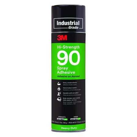 Adhesive, Spray, 24 oz., 17.6 oz. Net
