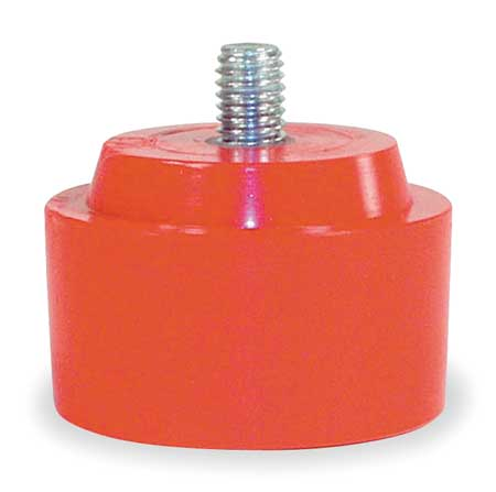 Hammer Tip, 2.5 In, Medium, Red