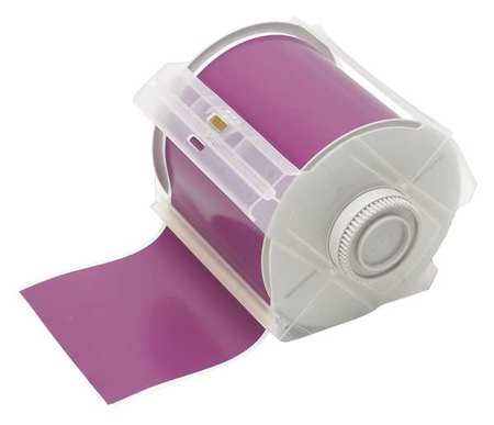 Tape, Purple, 100 ft. L, 4 In. W