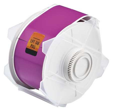 Tape, Purple, 100 ft. L, 2-1/4 In. W