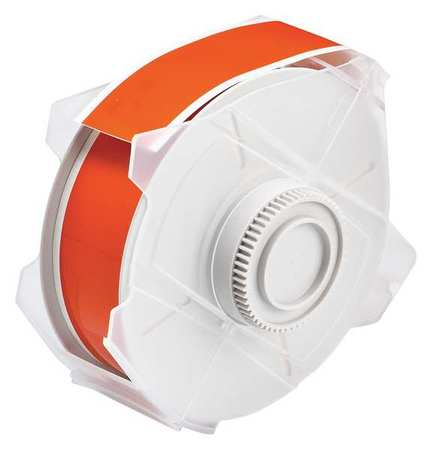Tape, Orange, 100 ft. L, 1-1/8 In. W