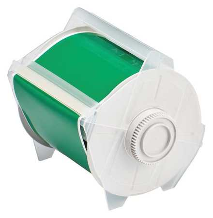 Tape, Green, 100 ft. L, 4 In. W