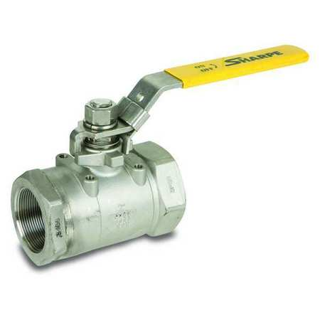 "3/4"" FNPT Stainless Steel Ball Valve Inline"