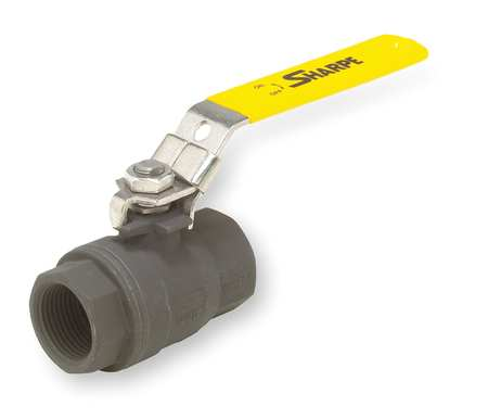 "3/8"" FNPT Carbon Steel Ball Valve Inline"