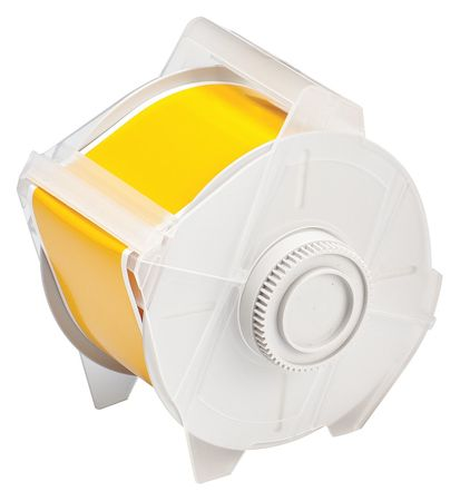 Tape, Yellow, 100 ft. L, 2-1/4 In. W