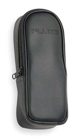 Soft Carrying Case, 2 In H, 8 In D, Black