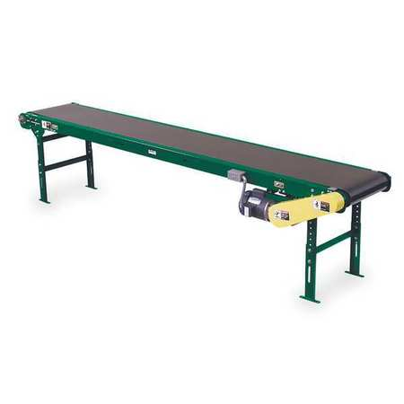 Slider Bed Belt Conv, 16 Ft L, 22-1/2 In W