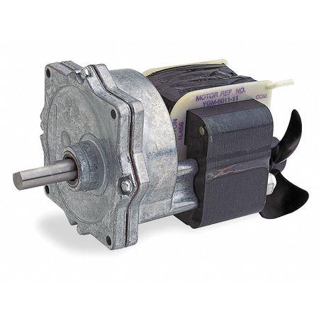 AC Gearmotor, 8.5 rpm, Open, 230V