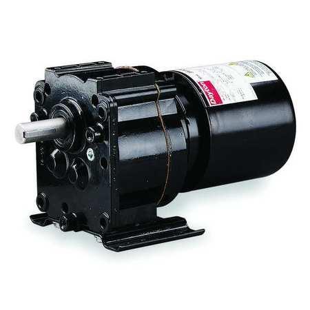 AC Gearmotor, 6.1 rpm, TEFC, 115V