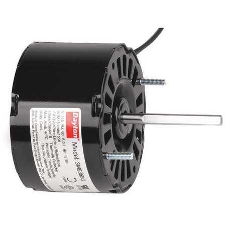 HVAC Motor, 1/100 HP, 1550 rpm, 115V, 3.3