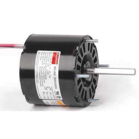 HVAC Motor, 1/30 HP, 1550 rpm, 115V, 3.3