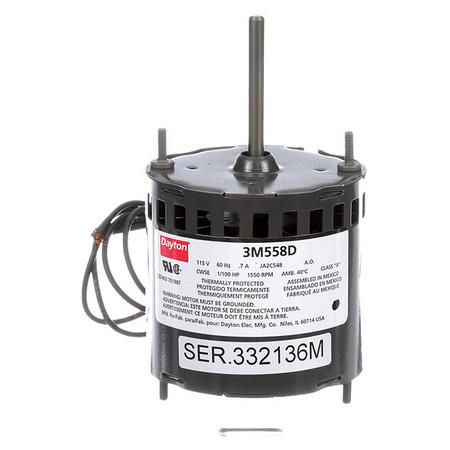 HVAC Motor,1//100 HP,1550 rpm,115V,3.3 71633708M