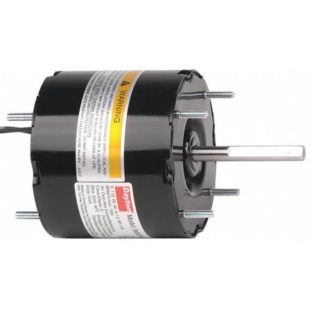 HVAC Motor, 1/30 HP, 1550 rpm, 115V, 3.3