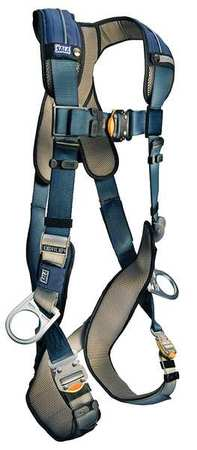 Full Body Harness, XL, 420 lb., Blue