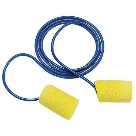 Ear Plugs, 29dB, Corded, Univ, PK100