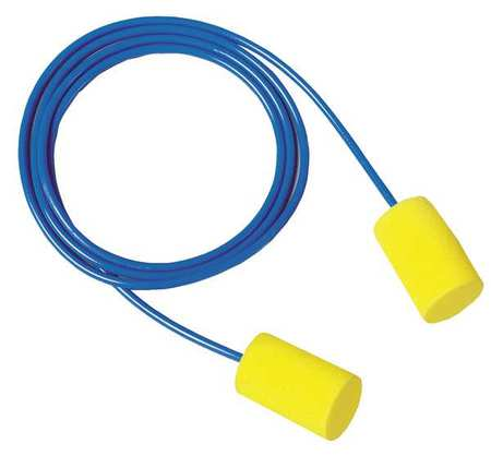 Ear Plugs, 31dB, Corded, Univ, PK200