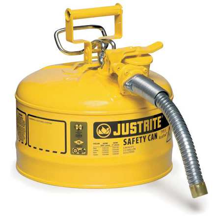 Type II Safety Can, 12 In. H, Yellow