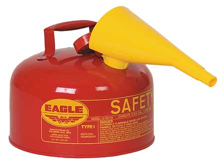 Type I Safety Can, 2 gal, Red