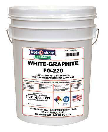 Food Grade White Graphite Lube ISO 220