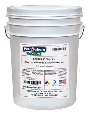 Food Grade SemiSyn Hydraulic Oil ISO 32