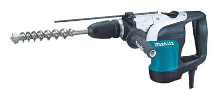 SDS Max Rotary Hammer Kit, 10A @ 120V