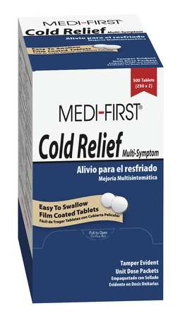 Cold Relief, Tablet, PK100