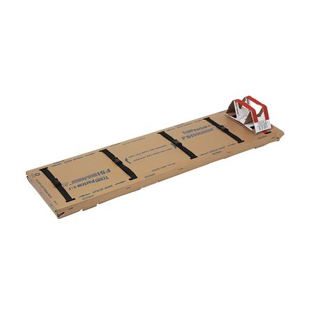 Disposable Backboard, 72 In. L, PK5