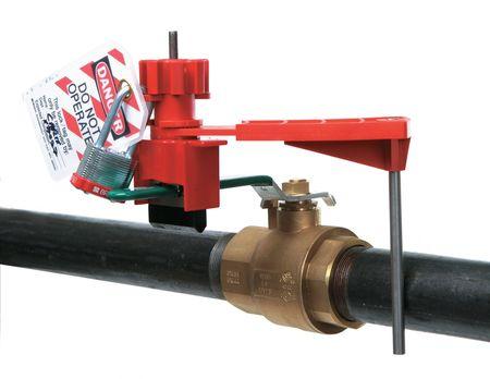 ball valve lockout. ball valve lockout, fits handle sz 1-3/4 lockout t