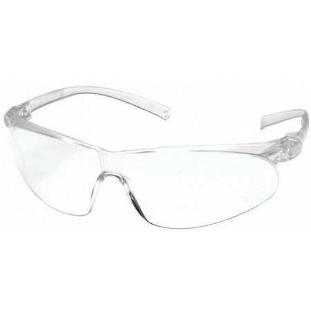 3M Clear Safety Glasses,  Anti-Fog,  Wraparound