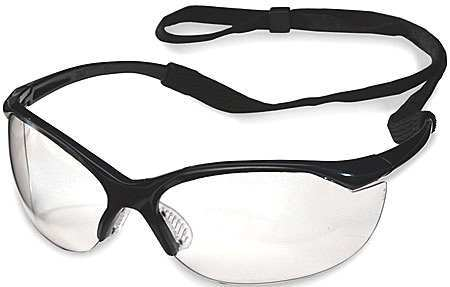 Willson Clear Safety Glasses,  Anti-Fog,  Wraparound