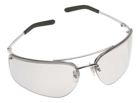 3M Indoor/Outdoor Safety Glasses,  Scratch-Resistant,  Half-Frame