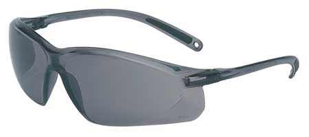 Honeywell Gray Safety Glasses,  Scratch-Resistant,  Wraparound