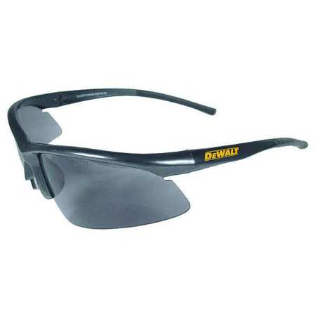 Dewalt Smoke Safety Glasses,  Scratch-Resistant