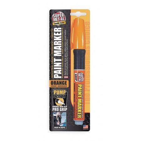 Pump Action Paint Marker, Orange