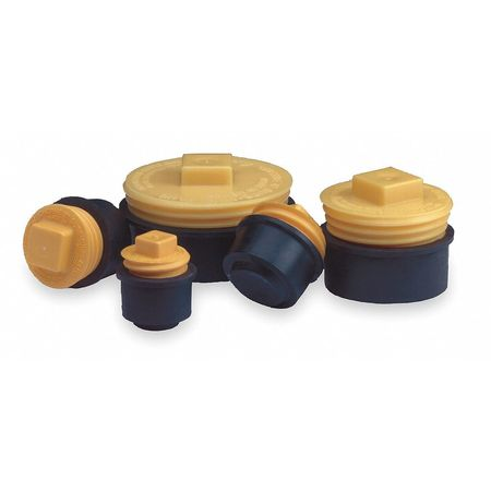 Pipe Plug, Mechanical, 3 In, Natural Rubber
