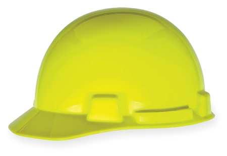 Hard Hat, FtBrm, Slttd, 4Rcht, HiViz Ylw/Grn