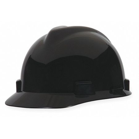 Hard Hat, Front Brim, Fastrac, Black