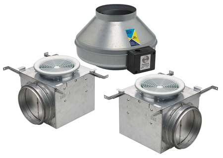 Exhaust Fan Kit, 6 In. Dia.