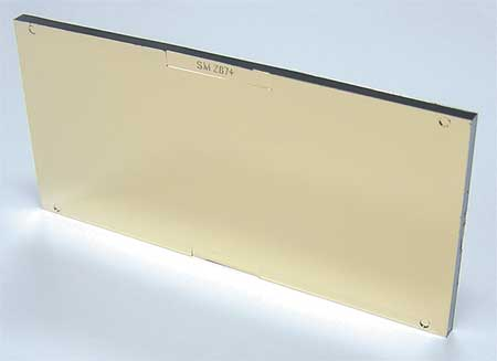 Polycarbonate Plate Gold Coated,  Shade 10
